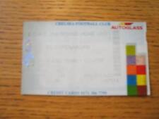 22/10/1998 Biglietto: Chelsea V Copenaghen [Europeo COPPA DELLE COPPE CUP] (piegato). NO
