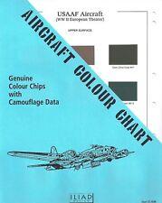 Aircraft Colour Chart: Usaaf Aircraft (Wwii European Theater) Cc-8