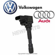 For Audi S6 S7 S8 Ignition Coil w/ Spark Plug Connector Genune 079-905-110 L