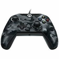 PDP Camo Xbox One 3M Wired Controller with Detachable Cable - Black NEW