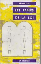 SAL MEYER / LES TABLES DE LA LOI - Principes et Rits du Judaïsme Originel