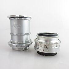 Pour dugroupe EXAKTA Meyer Optik trioplan 2.9/50 objectif/Lens avec tube set