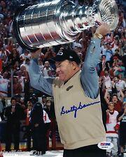 Scotty Bowman  Hockey Signed 8x10 Auto PSA Blackhawks Canadians Blues Red Wings