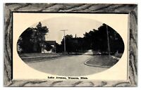 Early 1900s Lake Avenue, Waseca, MN Postcard