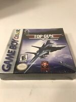 Top Gun: Firestorm NEW SEALED! MEGA RARE Nintendo GameBoy Color H-SEAM GBC!