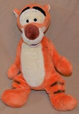 "17"" Tigger Winnie The Pooh Tiger Disney Lettering On Foot Plush Dolls Toys RARE"