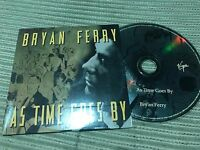 BRYAN FERRY ROXY MUSIC SPANISH CD SINGLE SPAIN 1 TRACK AS TIME GOES BY CARD SLV