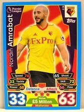 Match Attax 2017/18 Premier League - #318 Nordin Amrabat - Watford