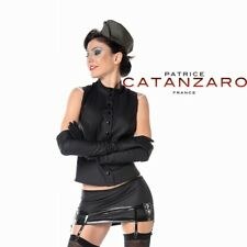Patrice Catanzaro - Nausicaa - Top sexy sans manches en néoprène style marin.