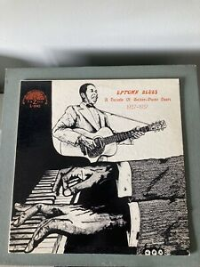 YAZOO 'UPTOWN BLUES' A DECADE OF GUITAR-PIANO DUETS 1927-37' L-1042 FAB!! VG+VG+