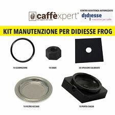Kit Ricambi Didiesse Frog: Porta Cialda + Filtro + Dado + Spessori + Guarnizione