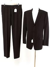 HUGO BOSS RED LABEL Anzug Gr. 98 (M Schlank) Wolle Sakko Hose Business Suit