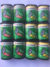 12 Rolls X Fujifilm Fuji Nexia APS Film - 6 X D100, 6 X 800 - 300 Exposures