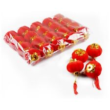 20 pcs Chinese Small Red Lanterns Traditional Lanterns Celebrate Party