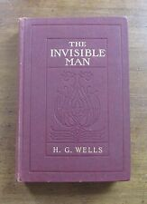 THE INVISIBLE MAN by H.G. Wells - Harpers 1897 - very good condition
