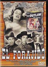 EL FORAJIDO de Howard Hughes con Jane Russell. AGOTADA.