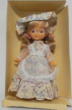 Ginger Vintage Doll 1979 Cute Dainty Floral The Old Fashions Blonde Rooted Hair