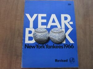 1966 New York Yankees Team Issued Baseball Yearbook (Revised Edition)