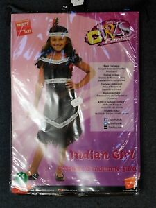 SMIFFYS INDIAN GIRL FANCY DRESS BNIP AGE 7-9 YEARS, DRESS & HEADBAND