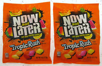 Now and Later ~ Tropic Rush ~ Mixed Fruit Chews Candy ~ 4oz Bag ~ Lot of 2