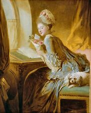 The Love Letter by Jean Honore Fragonard 1770s Old Masters 8x10 Art Print
