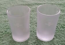 2 Jagermeister Frosted Shot Glass