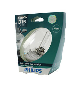Genuine PHILIPS Xenon X-treme Vision Gen2 D1S 35W - Single HID Headlight Bulb