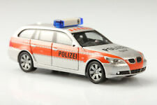 H0 Herpa BMW 5er touring Polizei Schweiz 117 Schmutz/Kratzer o. OVP