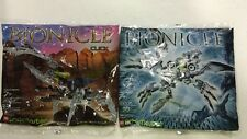 Lego Bionicle Brickmaster Sets 20005 & 20012