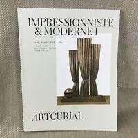 Impressionista Art Moderno Pittura Scultura Design Vintage Asta Catalogo