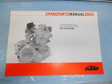 2004 KTM 400 EXC Racing Engine Manual Spare Parts Manuel 3208153