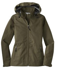 Port Authority Womens Hooded Dry Shell Waterproof Ladies Jacket Coat NEW L308