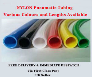NYLON PNEUMATIC PLASTIC TUBING COMPRESSED AIRLINE PIPE ROBOTIC AIR HOSE  METRIC