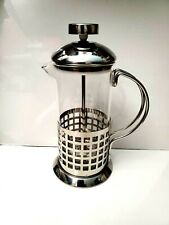 French Press Coffee Maker 12oz Stainless Steel with Mirror Finish