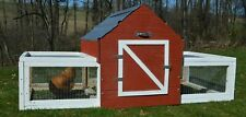 Amish Made Chicken Coop for 6 - 7 Chickens - mEGGa XL Chicken Coop