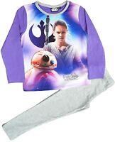 Star Wars Girls Pyjamas Sleepwear Sizes 3-4, 5-6, 7-8, 9-10 Years (SW60)