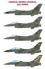 Caracal 1/48 Lockheed-Martin F-16 CAS Vipères # 48056