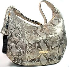 $2,220 New Authentic Cristiano Pompeo Italy Soft Python Hobo Large luxury Bag 1