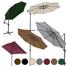2.5M 2.7M 3M 3x2M Garden Parasol Crank Cantilever Outdoor Sun Shade Umbrella