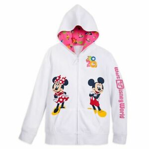Mickey Mouse and Friends Zip-Up Hoodie for Girls – Walt Disney World 2020