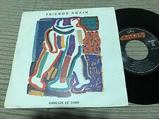 "FRIENDS AGAIN SPANISH 7"" SINGLE SPAIN MERCURY 84 LULLABY SUNKISSED INDIE POP"