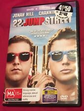 22 Jump Street (DVD, 2014) Includes Ultraviolet Copy VGC - Watched Once Region 4