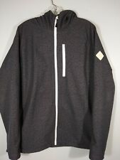 Large Full Zip Burton Dry Ride Ski Snowboard Jacket With Hood.
