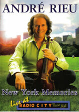 ANDRE RIEU New York Memories Live At Radio City Music Hall DVD NEW PAL Region 0