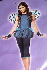 Blue Dragonfly Child Halloween Costume size Large Halloween Party Totally Ghoul