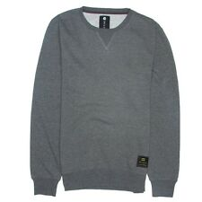 2014 NWOT MENS BILLABONG ROUGH CREW PULLOVER $35 L dark heather grey