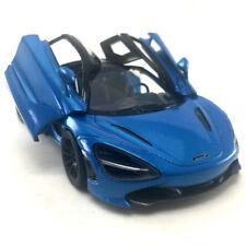 McLaren 720s Blue Kinsmart 1:36 DieCast Model Toy Car Collectible Hobby Sport #1