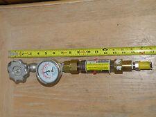 Evans PCWR Stick Globe Valve/Flow Meter/ Pressure/Temperature Measurement