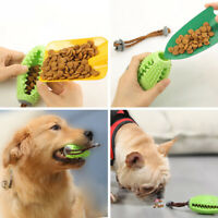 Rubber Pet Dog Chew Toy for Small Medium Dogs Food Dispenser Ball Teeth Cleaning