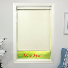 Fawn Roller Shade 4ply Vinyl Blackout Blind  Home Window Custom Made In Canada